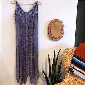 Vintage 90's Grunge Purple Dress, Small